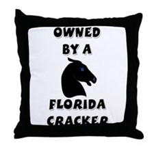 Florida Cracker Throw Pillow