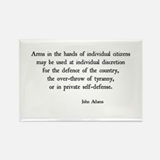 John Adams Rectangle Magnet