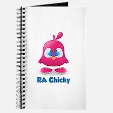 RA Chicks Cute Pink Chicky Journal