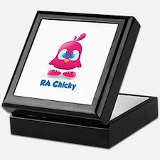 RA Chicks Cute Pink Chicky Keepsake Box