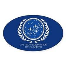 United Federation of Planets Bumper Stickers