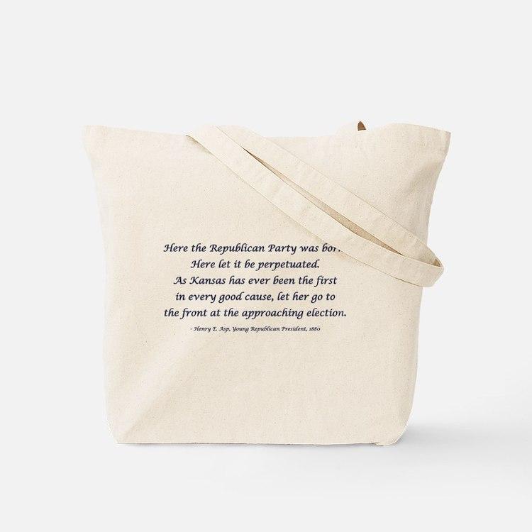 Cute Young republican Tote Bag