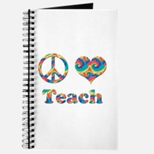 Funny Peace bacon peace sign hippy love fightcancertees Journal