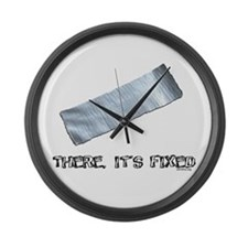Duck Tape Large Wall Clock