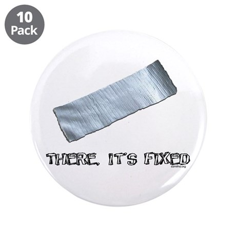 """Duck Tape 3.5"""" Button (10 pack)"""