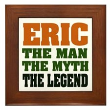 ERIC - The Legend Framed Tile