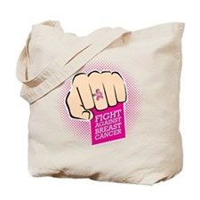 Fight Against Breast Cancer Tote Bag