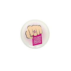 Fight Against Breast Cancer Mini Button