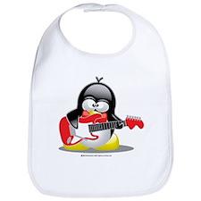 Electric Guitar Penguin Bib