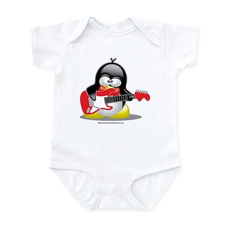 Electric Guitar Penguin Infant Bodysuit