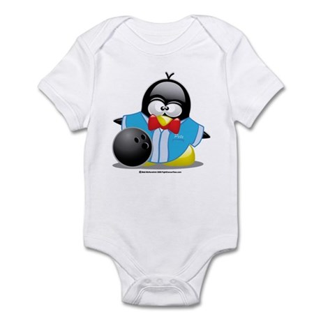 Bowling Penguin Infant Bodysuit
