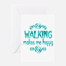 Walking Greeting Card