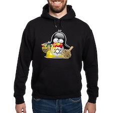 Penguin Hanukkah Hoody