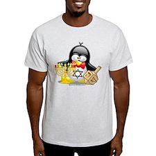 Penguin Hanukkah T-Shirt