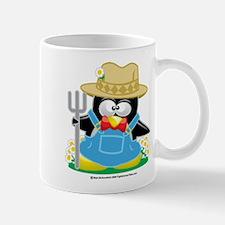 Farmer Penguin Mug
