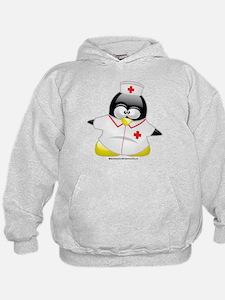 Nurse Penguin Hoodie