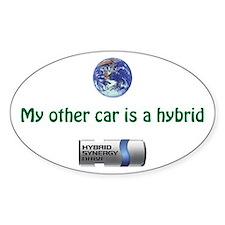 My other car is a hybrid - bumper sticker