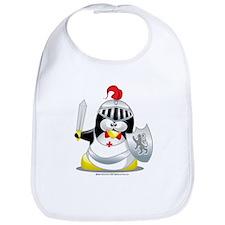Knight Penguin Bib