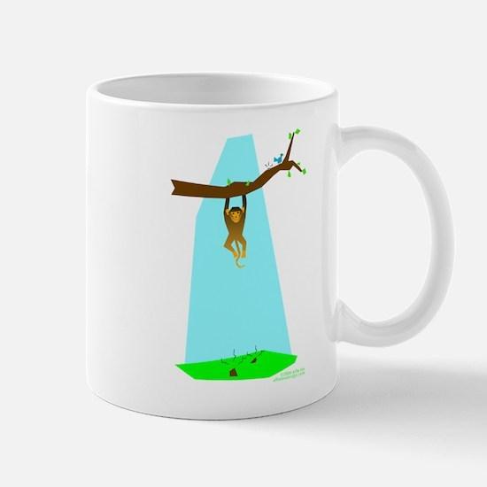 Monkey Make Poopie! Mug