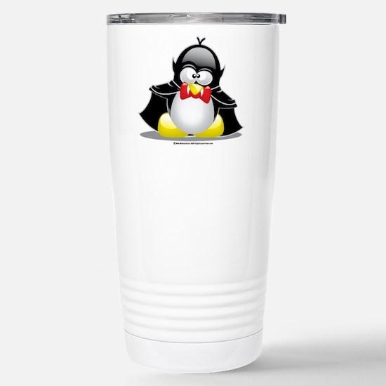 Vampire Penguin Stainless Steel Travel Mug