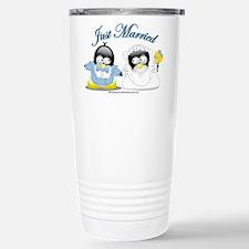Penguin Wedding Travel Mug