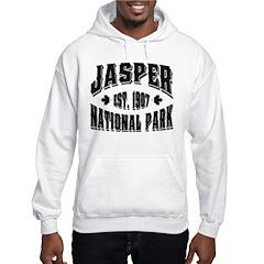 Jasper Old Style Black Hoodie