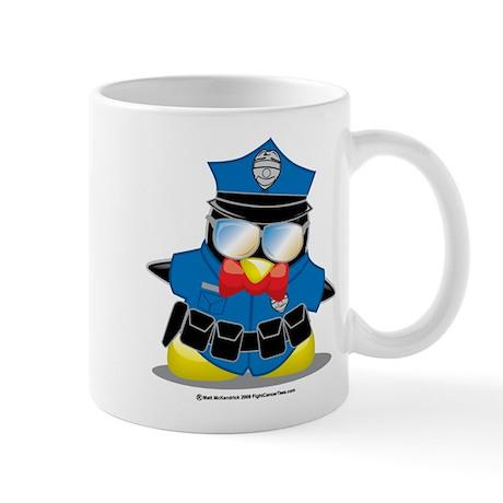Police Penguin Mug