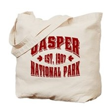 Jasper Old Style Canada Red Tote Bag