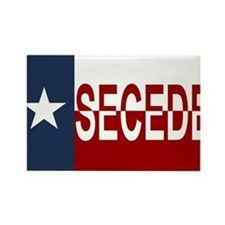Texas Secession Rectangle Magnet