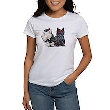 Scottish Highland Terriers Tee