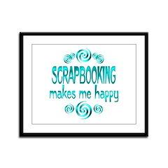 Scrapbooking Framed Panel Print