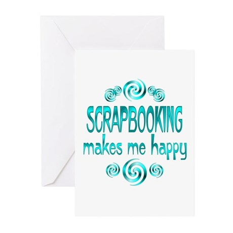 Scrapbooking Greeting Cards (Pk of 10)