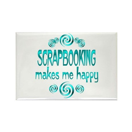 Scrapbooking Rectangle Magnet (100 pack)