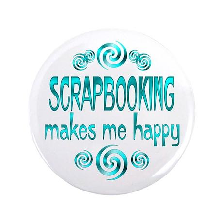 "Scrapbooking 3.5"" Button"