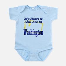Heart & Soul - Washington Infant Bodysuit