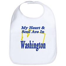 Heart & Soul - Washington Bib