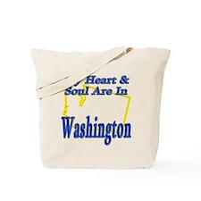 Heart & Soul - Washington Tote Bag