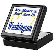 Heart & Soul - Washington Keepsake Box
