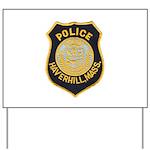 Haverhill Mass Police Yard Sign
