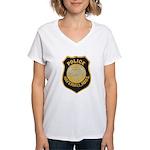 Haverhill Mass Police Women's V-Neck T-Shirt