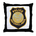 Haverhill Mass Police Throw Pillow
