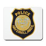 Haverhill Mass Police Mousepad