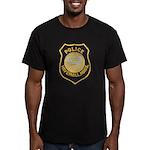 Haverhill Mass Police Men's Fitted T-Shirt (dark)