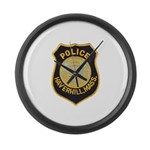 Haverhill Mass Police Large Wall Clock