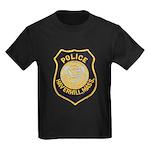 Haverhill Mass Police Kids Dark T-Shirt