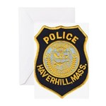 Haverhill Mass Police Greeting Cards (Pk of 10)