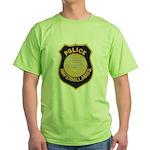 Haverhill Mass Police Green T-Shirt
