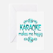 Karaoke Greeting Card