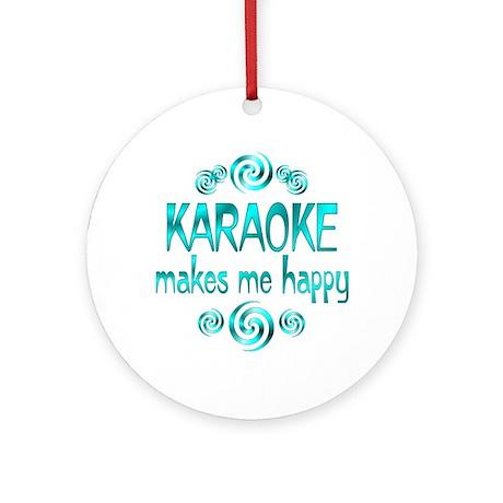 Karaoke Ornament (Round)