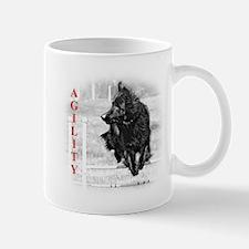 shepherd agility Mug
